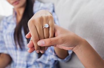 Showing ring